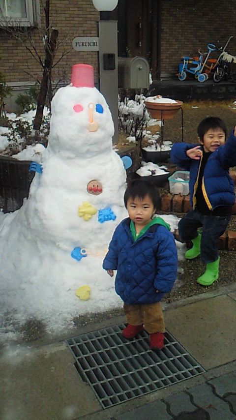 雪だるまん☆彡