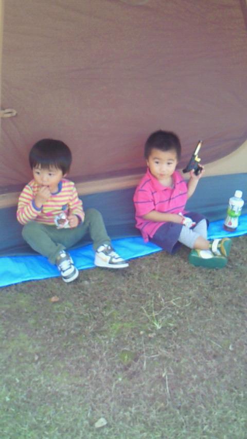 秋キャンプ(^O^)