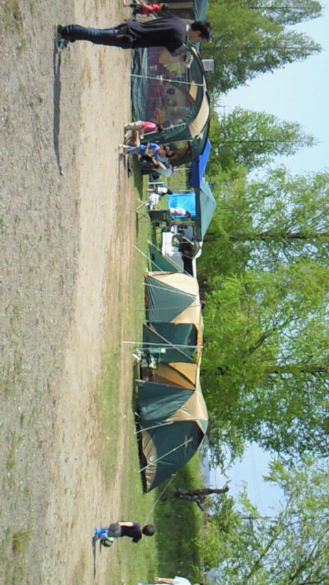 初キャンプ(^O^)<br />  /
